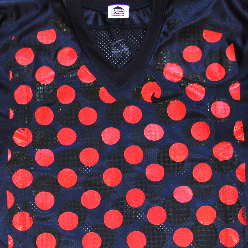COMME des GARCONS x NIKE football jersey